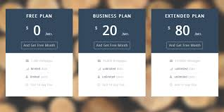 Pricing Table Templates Pricing Table Startup Ui Pricing Table Graygrids