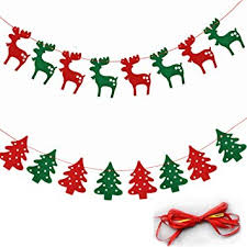 merry christmas banner. Plain Christmas Merry Christmas Banner Bunting Banner Flag Chirstmas Deers Party  Decorations 2 Intended G