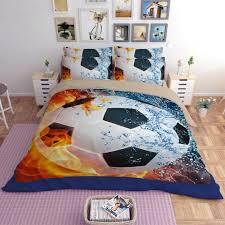football bedding sets photo 1 of 9 new kids soccer bedding set football duvet cover pillowcase