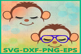 Animated svgs won't necessarily be great in all situations where it's necessary to animate a particular image. 3 Monkey Face Svg Designs Graphics