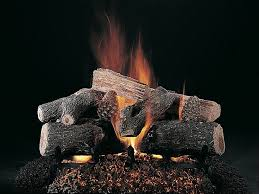 cjs hearth and home evening lone star vented gas log set
