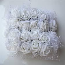 12pcs/lot 2cm <b>Mini</b> Artificial Rose Flowers Party Wedding decoration ...