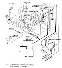 Wiring diagram for 1999 club car golf cart and