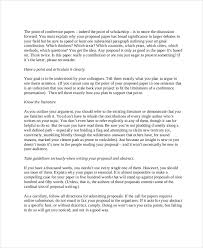proposal samples application letters samples pdf bussines 7 conference proposal examples samples