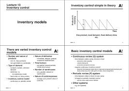 Basics Of Inventory Control Pdf
