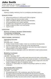 Chronological Resume Sample Hire Me 101