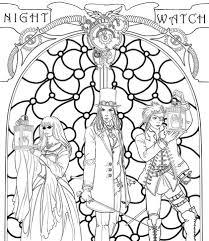 Kleurplaat De Nachtwacht
