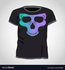 Design Skull T Shirt Skull T Shirt Design Template