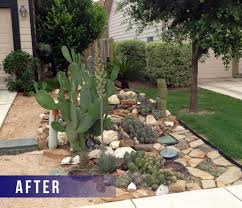 Xeriscape Front Yard Austin Small Yard Landscaping Ideas