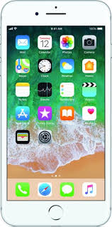 apple iphone 7 plus silver. apple iphone 7 plus (silver, 128 gb) iphone silver