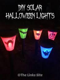 diy halloween lighting. Easy DIY Solar Halloween Lights Thelinkssite.com Diy Lighting I