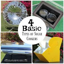 Solar Oven Temperature Chart Four Basic Types Of Solar Cookers Sunshine On My Shoulder