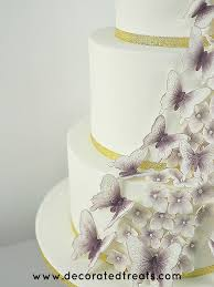 Butterfly Wedding Cake Decorations Easy Gumpaste Butterflies