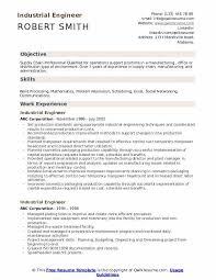 Engineering Skills Resume Industrial Engineer Resume Samples Qwikresume