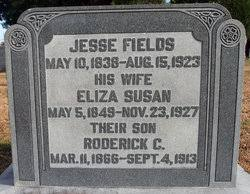 Jesse Fields (1838-1923) - Find A Grave Memorial
