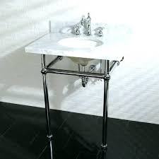 sink with metal legs bathroom sink metal legs st bathroom console sink metal legs