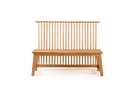 450 Two Seater Bench with Back