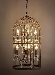 58 light crystal birdcage chandelier for modern dining room decor