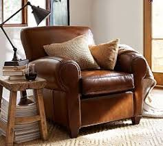 traditional leather sofas. Perfect Leather Brown Leather Sofas U0026 Traditional  Pottery Barn Inside S