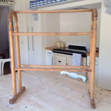 wood towel stand. Antique Victorian Wooden Towel Stand Rail Pine Floor Standing 25  00 Picclick Uk Mounting Wood Towel Stand E