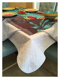 first quality quilted table protectors quilted dining table pad with flannel backed for more protection