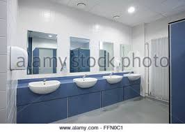 office toilet design. modern office toilets and washroom - stock photo toilet design m
