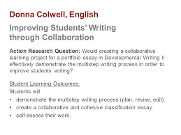 student engagement through self assessment research based  16 donna colwell