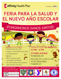 Health Fair Flyers Spanish Flyer Omfar Mcpgroup Co