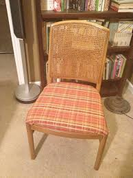 how to reupholster a dining chair seat 14 steps with glider chair repair beautiful mid century od 49 teak