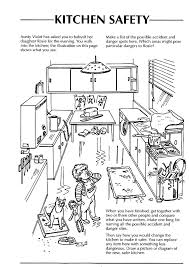 Small Picture safety in the home worksheets kitchen Google Search Adults