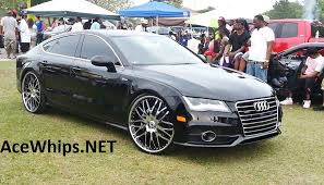 audi a7 2014 custom. first in the world audi a7 on 24 2014 custom l