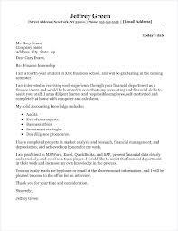 Internship Application Letter Cover Letter Internship Finance Uk Finance Intern Cover Letter