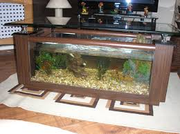 rosewood coffee table fish tank fish aquarium coffee table for