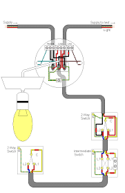 2 way light switch wiring diagram efcaviation com how to wire two switches to one light at Light Switch Wiring Diagram 2 Way