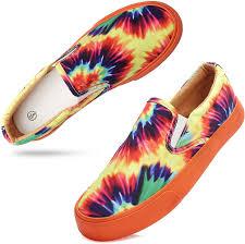 Women's Canvas Slip On Sneakers Fashion Flats ... - Amazon.com