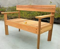 simple wood bench plans