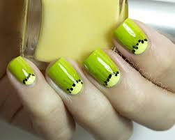 Green And Yellow Nail Art - Best Nails Art Ideas