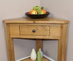 small console table with drawer. Oak Corner Unit Console Telephone Lamp Table Hallway Plant Stand Hall Furniture New: Amazon.co.uk: Kitchen \u0026 Home Small With Drawer F