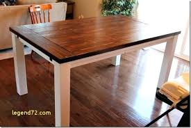 top result extendable dining table plans lovely farmhouse with extension leaves diy plan