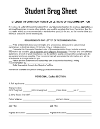 Counselor Letter Of Recommendation In Word And Pdf Formats