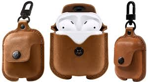 best apple airpods leather case from twelve south