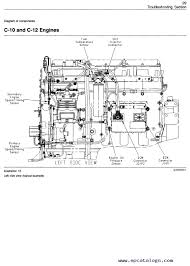 cat c12 engine diagram caterpillar 3406e c 10 c 12 c 15 c 16 c 18 on highway engines enlarge