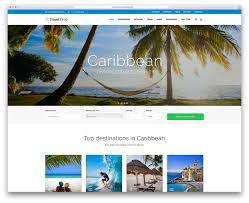 Tourism Web Design Inspiration 50 Best Wordpress Travel Themes For Blogs Hotels And