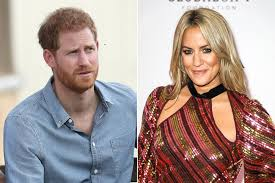 Caroline flack , prince harry , royals. Love Island Host Caroline Flack Once Had A Fling With Prince Harry