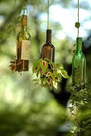 19 spectacular sustainable diy wine bottle outdoor decorating