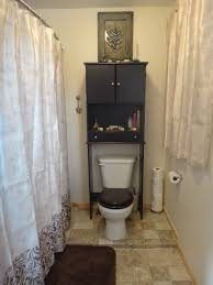 Black Over The Toilet Cabinet Bathroom Cabinets Over Toilet Well Suited Design Lowes Bathroom