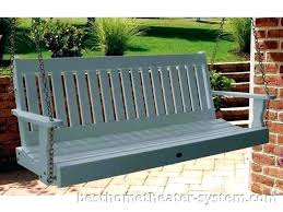 4 foot porch swing plans teak bed curved back outdoor 5 a