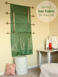 Fences, gates and wickets designed for unpretentious drawing, it is enough just. Simple Diy Wall Art Idea Hang Sari Silks Or Any Other Pretty Fabric On The Wall Quilted Wall Hangings Diy Wall Diy Wall Art
