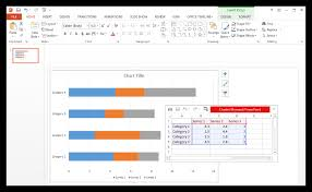 Embed Chart In Powerpoint How To Make A Gantt Chart In Powerpoint Free Template