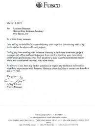 Letter Of Recommendation For Project Manager Letters Of Recommendation